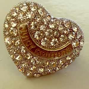 Juicy couture heart ring